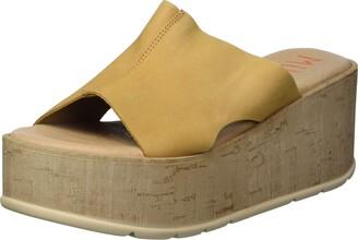 Musse & Cloud Women's Side on Slide Sandal