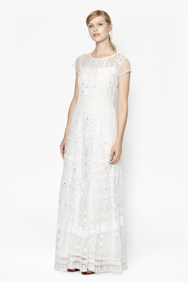 French Connection Coachella Embroidered Maxi Dress