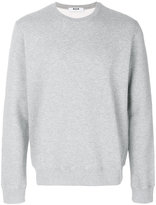 MSGM logo patch detail sweatshirt