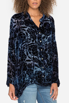Pete & Greta Quincy Velvet Blouse