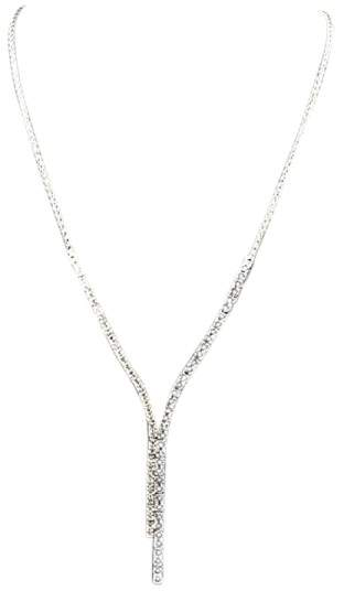 Effy BH 14K White Gold with Blue Sapphire & Diamond Necklace