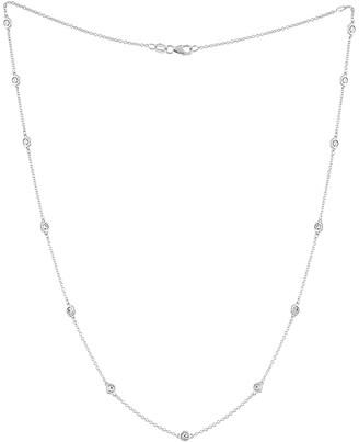 Diamond Select Cuts Diana M. Fine Jewelry 14K 1.20 Ct. Tw. Diamond By The Yard Necklace