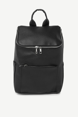 Ardene Faux Leather Zipped Backpack