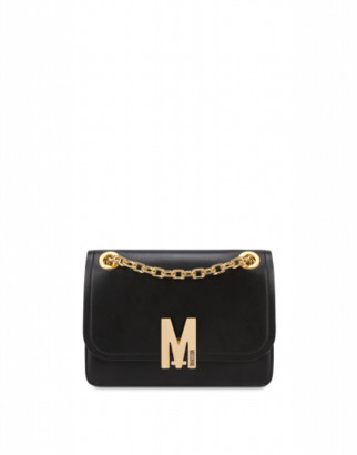 Moschino M Shoulder Bag Woman Black Size U It - (one Size Us)