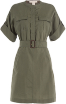 Burberry Cotton Dress with Silk