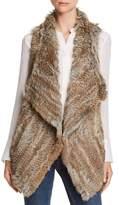 C by Bloomingdale's Rabbit Fur & Cashmere Vest - 100% Exclusive
