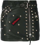 P.A.R.O.S.H. studded patch skirt