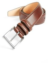 Trafalgar Men's 'Lorenzo' Leather Belt