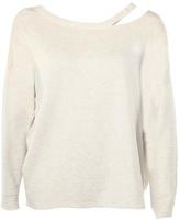 Dex Shoulder Accented Sweatshirt