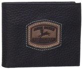 John Deere Men's Historical Logo Passcase Wallet