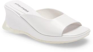 Jeffrey Campbell Ryuki Platform Wedge Slide Sandal