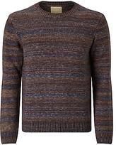 John Lewis & Co. John Lewis & Co. Made In Italy Space Dye Wool Jumper