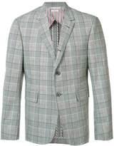Thom Browne plaid blazer
