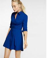 Express tulip skirt shirt dress