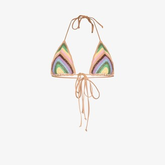Frankie's Bikinis Nirvana crochet triangle bikini top