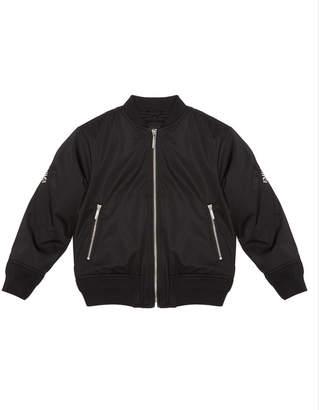 Emporio Armani Boy's Bomber Jacket w/ Logo Taping, Size 6-16
