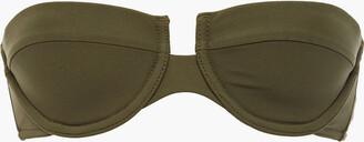 Zimmermann Leopard-print Bandeau Bikini Top