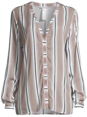 Hanro Sleep & Lounge Striped Pajama Top
