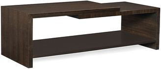 Caracole Moderne Coffee Table - Aged Bourbon