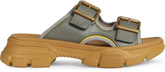 Gucci Chunky Sole Buckle Sandals