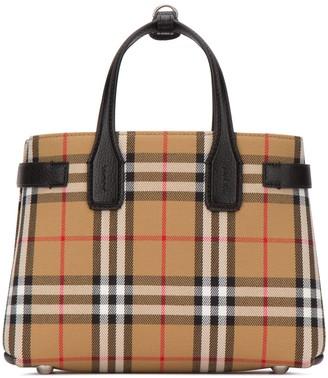 Burberry Vintage Check Banner Bag