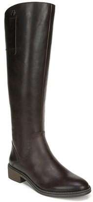 Franco Sarto Leather High Shaft Boots - Becky