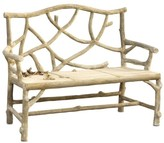 The Well Appointed House Faux Bois Woodland Bench