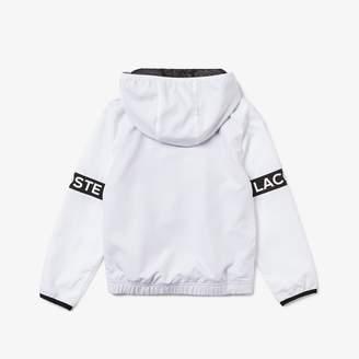 Lacoste Boys SPORT Full-Zip Performance Hooded Jacket