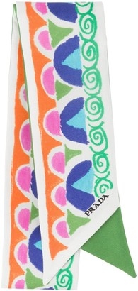 Prada Printed Ribbon