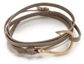 Miansai Hook Leather Wrap Bracelet