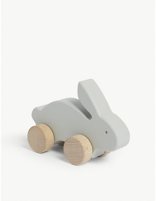 Liewood Elena rabbit on wheels wooden toy