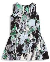 Milly Little Girl's Floral Printed Dress