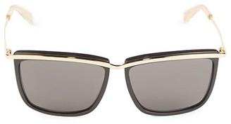 Celine 59MM Metal Square Sunglasses