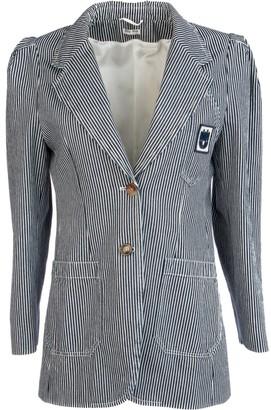 Miu Miu Striped Blazer