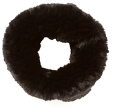 Tory Burch Original Knitted Rabbit Fur Funnel Scarf