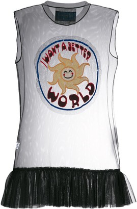 Viktor & Rolf I Want A Better World tank top