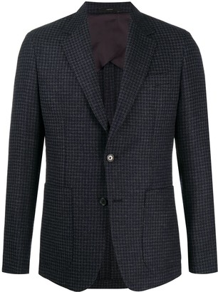 Paul Smith Houndstooth Single-Breasted Jacket
