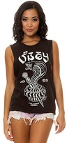 Obey The Eplucobra Moto Tank in Graphite
