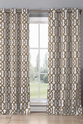 Duck River Textile Ashmont Blackout Grommet Curtain - Set of 2 - Taupe