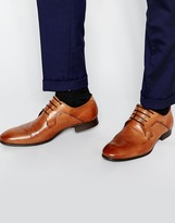 Selected Homme Latin Derby Shoes - Brown