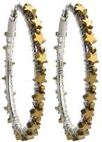 Viv&Ingrid Gold Large Star Hoops