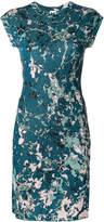 M Missoni patterned cap sleeve mini dress