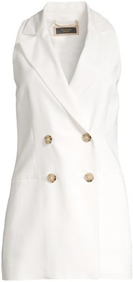 Peserico Sleeveless Double-Breasted Vest