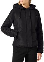 Jigsaw Storm Short Padded Coat, Black