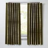 """Tie-Dye Green 63"""" Curtain"""