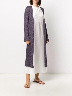 M Missoni Glittered Long Cardi-Coat