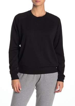 ARX LAB Crew Neck Fleece Pullover Sweatshirt