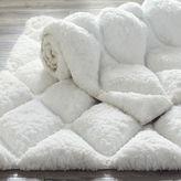 Pier 1 Imports Luxe Diamond White Bath Rug