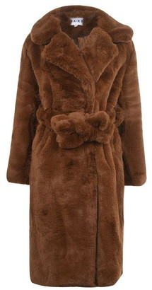 NA-KD Nakd Faux Fur Coat Ld01
