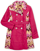Missoni Girls 7-16) Reversible Knit Wave Trench Coat